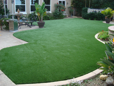 artificial turf after