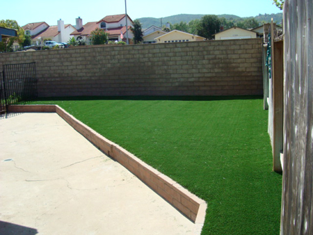 after synthetic turf
