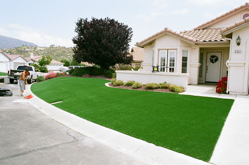 Installation Process Artificial Turf Synthetic Gr Los