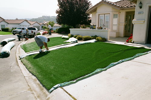 Artificial Turf Installaiton